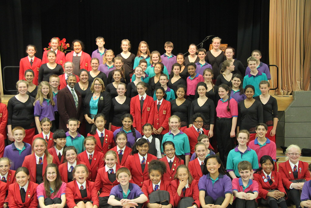 Colorado Children's Chorale with Chilton St. James choirs in Wellington