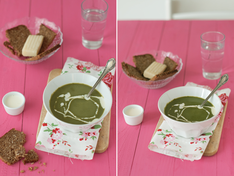 receta sopa espinaca 1