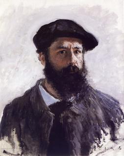 Autorretrado de Monet.