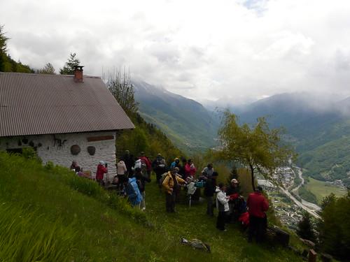Un beau promontoire à Champ Blaire 1050m (2)