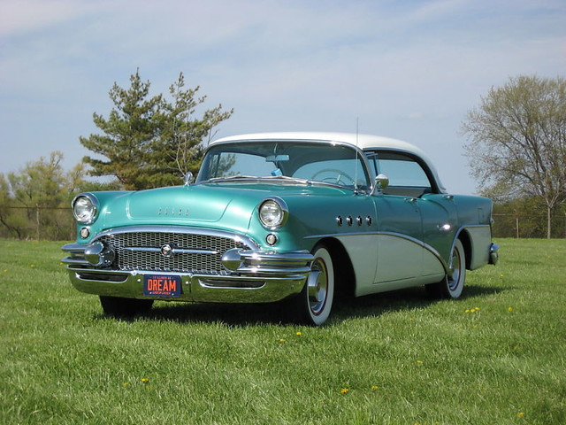 1955 buick century 4 door riviera flickr photo sharing for 1955 buick century 4 door hardtop