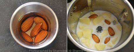 How to make apple milkshake - Step1