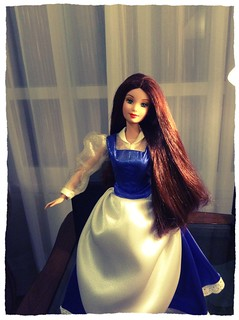 Belle's long hair