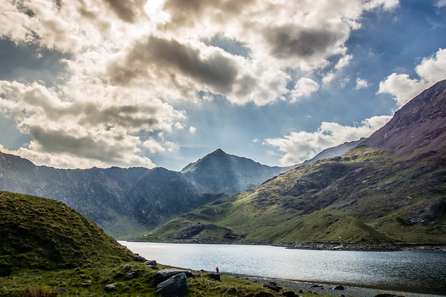 08 - June - 2013:  Clouds over Mount Snowdon
