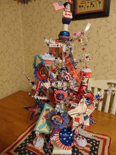 patriotic tree