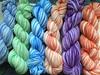 stripey sock yarn