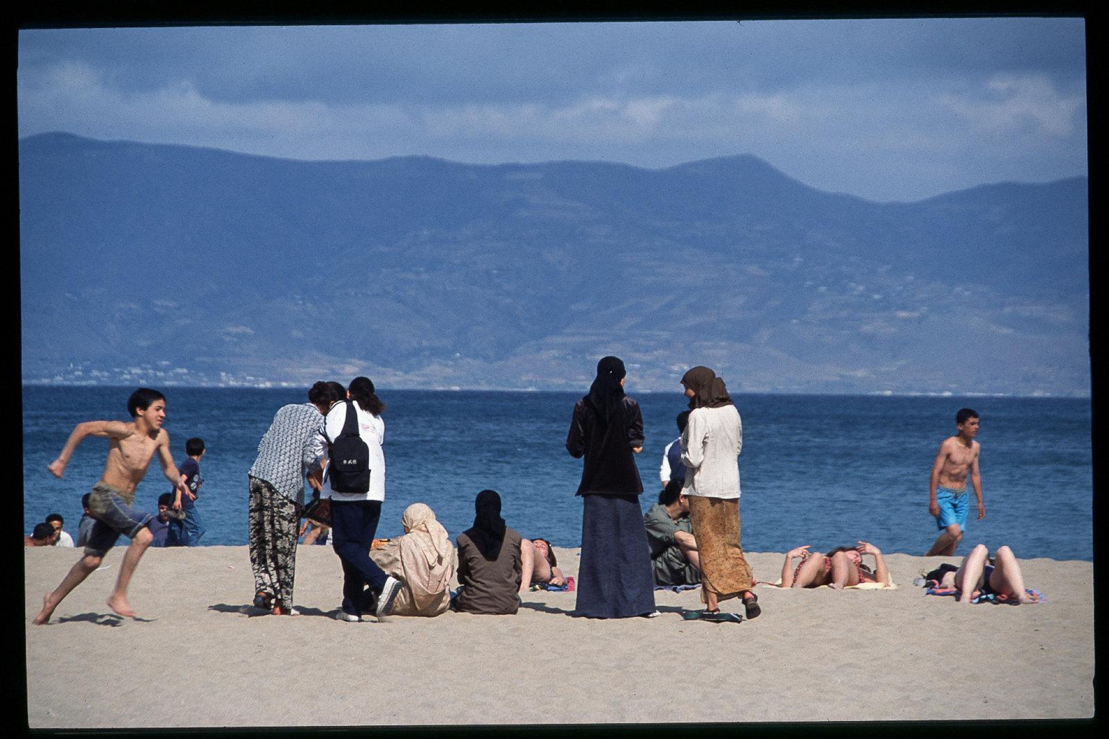 Maroc oriental - Une plage près d'Al Hoceima