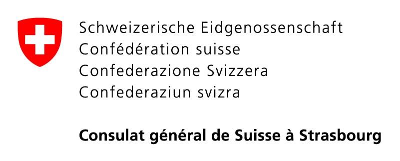 Logo Consulat suisse Strasbourg