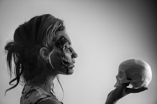 Zombie series / Gazing death