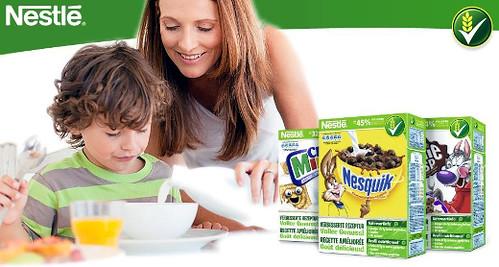 Probierset Nestlé Cerealien