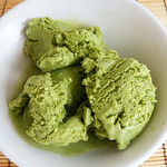 Japanse groene thee ijs