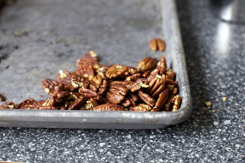 deeply toasted pecans