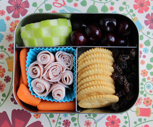 Preschooler Turkey Roll-up Bento #472