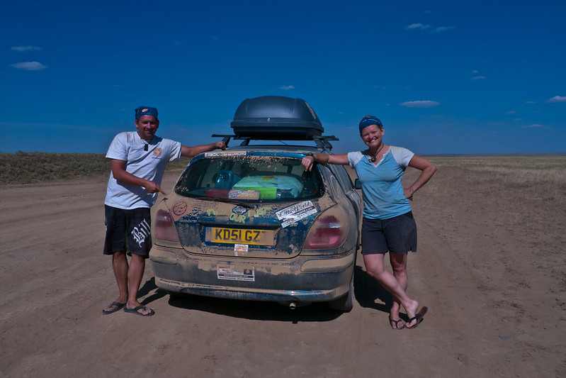 Dave and Deb Mongol Rally