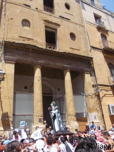 L'ospedale vecchio di Agrigento - Festa di San Calogero - Statua curva e pendente