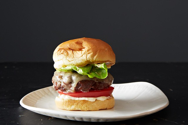 Burger from Food52