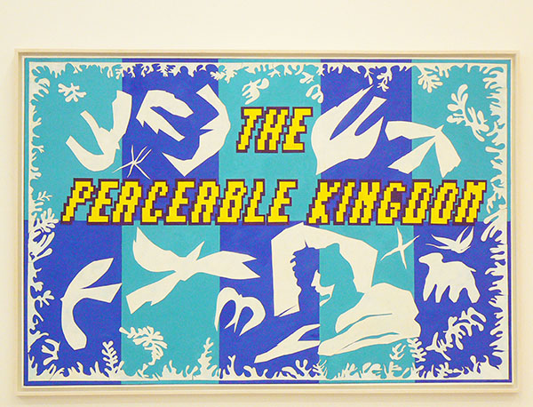 douglas Huebler the peaceable Kingdom d'après Polynésie, la mer