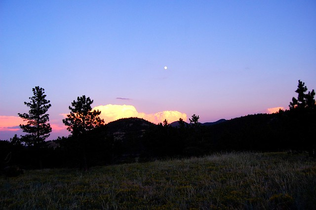 Sunset - Camping and Boating, Gross Reservoir, CO
