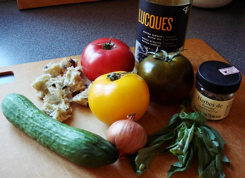 Dieter's Panzanella: Ingredients