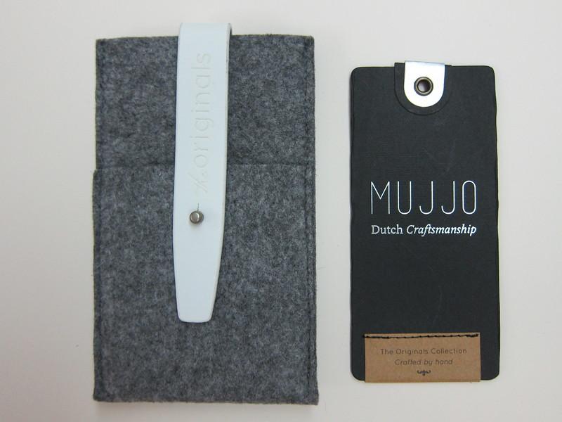 Mujjo Galaxy S3 Wallet - Front