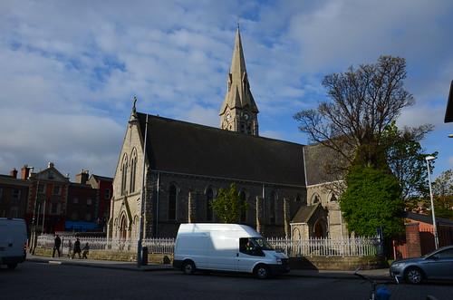 Die Kirche von St. Patrick in Ringsend