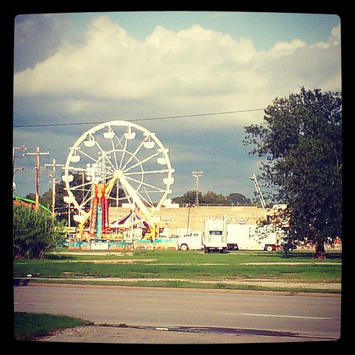 carnival square fair squareformat kansas ferriswheel skywatch iphoneography instagramapp xproii uploaded:by=instagram foursquare:venue=4bc2a9044cdfc9b6d2739621