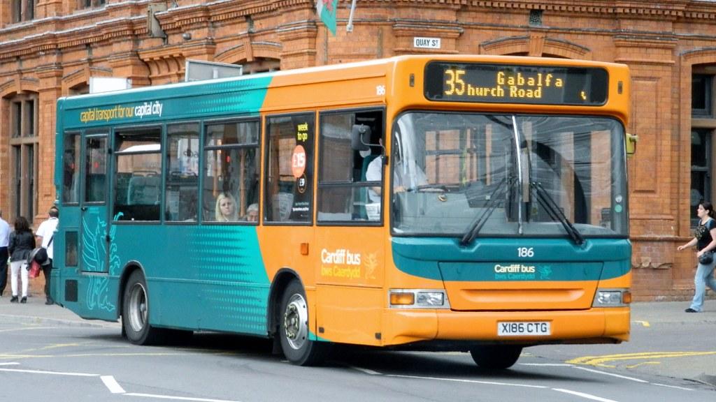 Cardiff Bus 186 - X186 CTG
