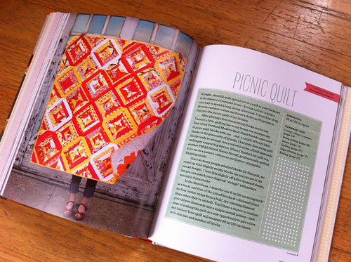 Picnic Quilt from Sewing For All Seasons
