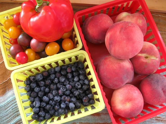 Farmer's Market & Basket Finds