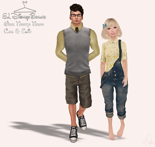 SL Disney Bound - Carl & Ellie ; ONE