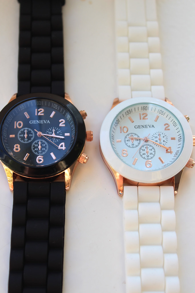 geneva silicone jelly watch, women watch, cheap watch, cheap geneva watch, ebay product review, fashion blog