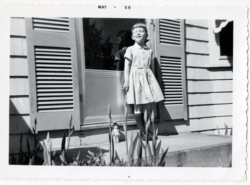 Front Steps May 1955 by midgefrazel