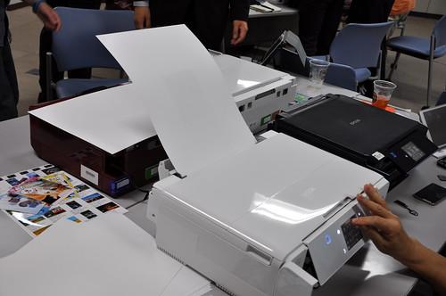 エプソン - カラリオ・プリンター(2013年秋冬モデル)「EP-976A3」「EP-806」 新商品体験+モニターイベント_052