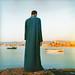 Denis Dailleux Homme regardant la Mer Rouge à Al Quseir Egypte 2003 by veluandcoco