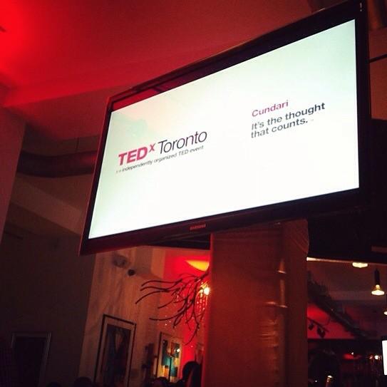 TEDxToronto, Joel MacCharles at TEDxToronto