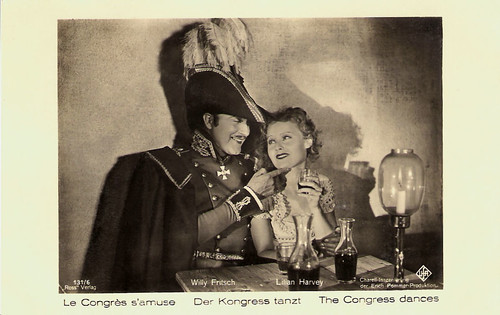 Lilian Harvey and Willy Fritsch in Der Kongress tanzt (1931)
