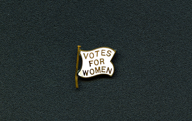 Vote for Women Pin