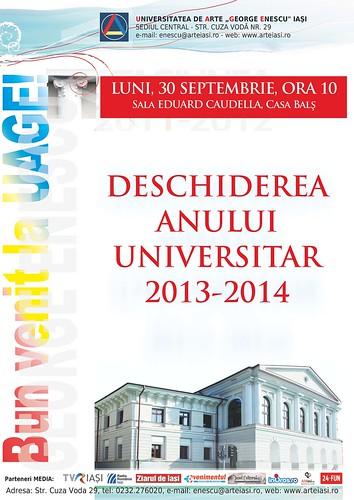 2013.09.30.Deschiderea anului univ 2013-2014