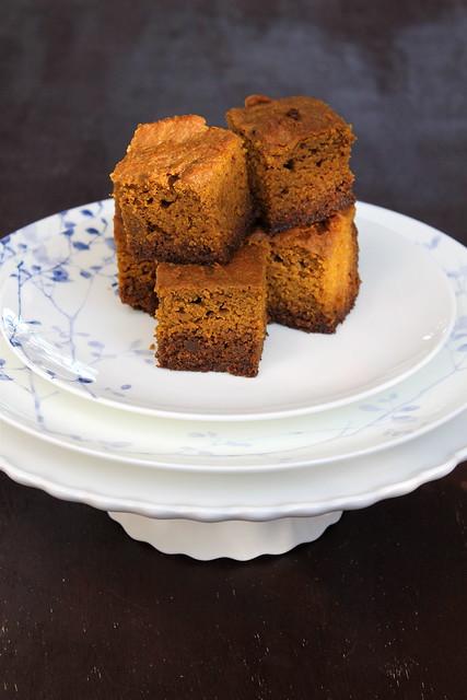 Pumpkin + Gingerbread, squared