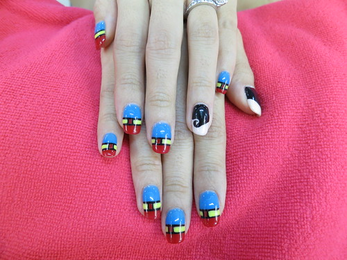 beauty blog, Beauty blogger, creative nail art, gelish nails, Hello Kitty, Hello Kitty Nails, lifestyle blog, milly's, Milly's Beauty SG, millys girl, nadnut, nadnut nails, nail art, nails, nails blog, nice nail designs, singapore lifestyle blog, Minnie mouse nails, Superman nails, ePure Membranous Jelly Masque, ePure Membranous Jelly Masque review