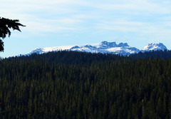 Comox Glacier from the Front Porch