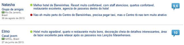 Hotel em Barreirinhas