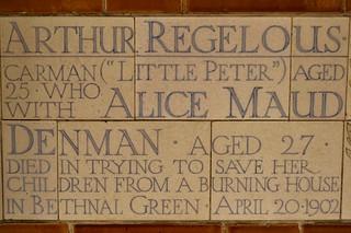 Arthur Regelous & Alice Maud Denman