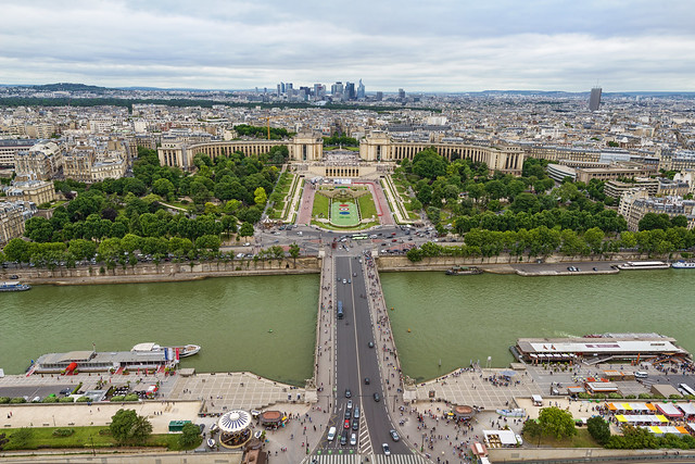 Trocadero and Seine