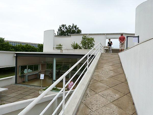 toit de la villa savoye