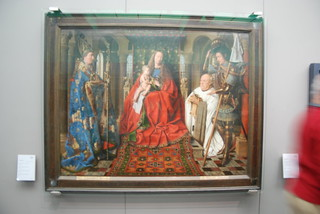 Image of Jan Van Eyck. belgium madonna bruges janvaneyck madonnawithcanonjorisvanderpaele canonjorisvanderpaele