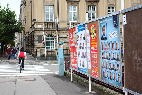 Electorial ads in Luxembourg