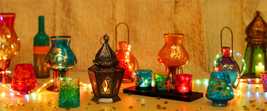 Diwali lights decor