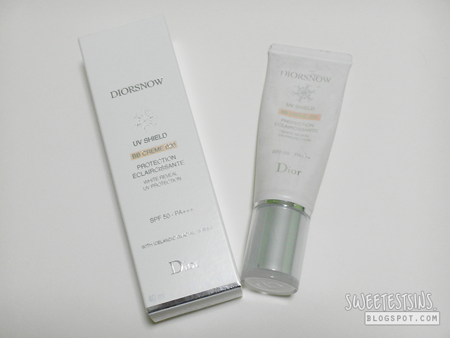 Diorsnow UV Shield BB Creme