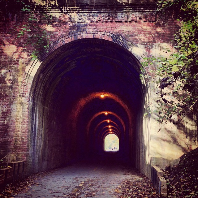Light at the end of the tunnel #latergram